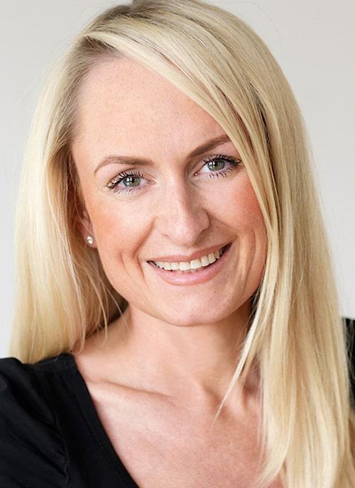 Kursledare Ulrica Hansson.