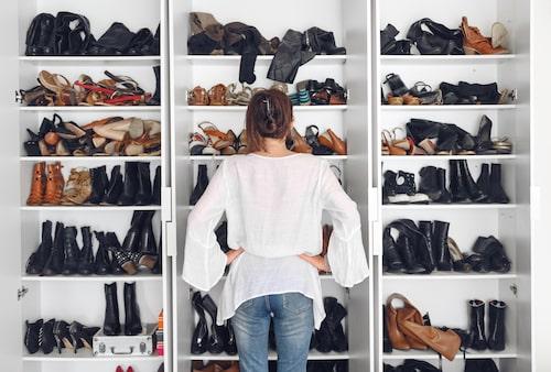 """""""Åh, alla mina älskade skor..."""""""