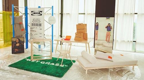 Virgil är aktuell med kollektionen Markerad för Ikea.