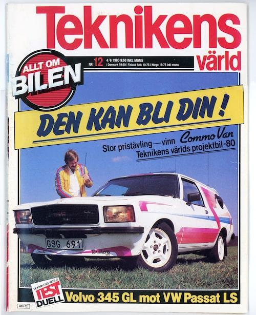 Teknikens Värld nummer 12/1980.