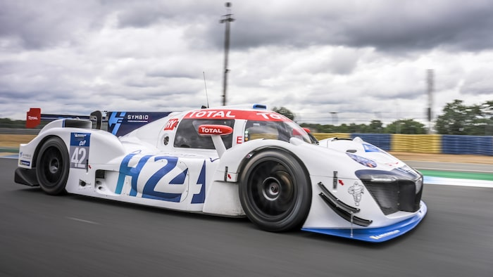 Vätgasdriven Le Mans-racer.