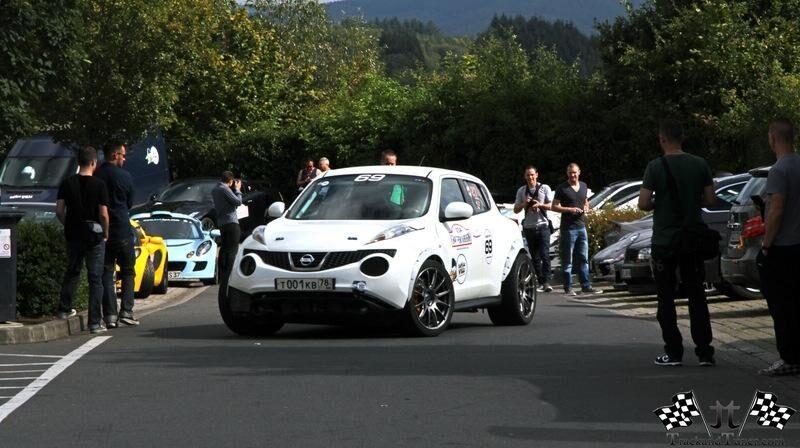Nissan Juke-R med 800 hästkrafter