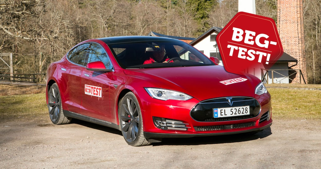 Begagnad Tesla Model S 2013-