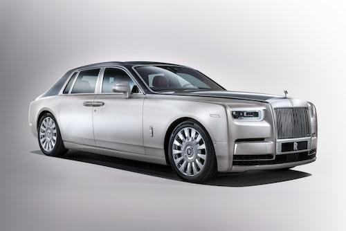 Rolls-Royce Phantom generation åtta kom 2017.