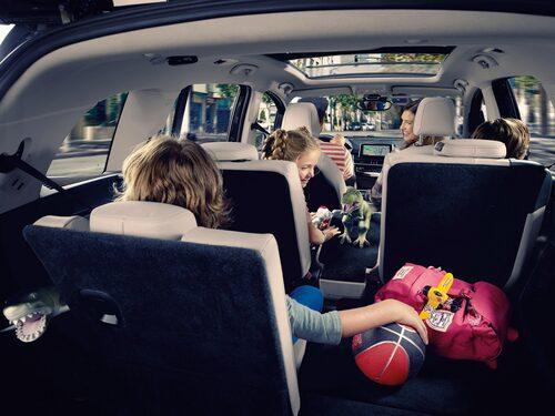 BMW 2-serie Gran Tourer rymmer många människor och mycket bagage.