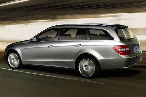 En av många renderingar som visar hur nästa generations Mercedes E-klass kan komma att se ut.