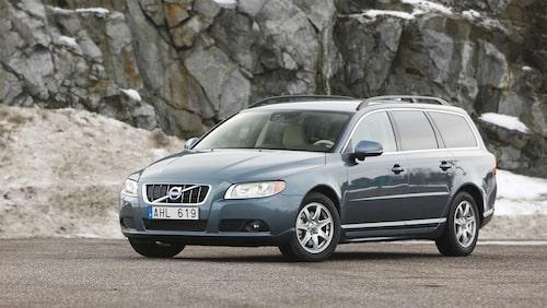 Mest sålda bilen på Blocket är Volvo V70...