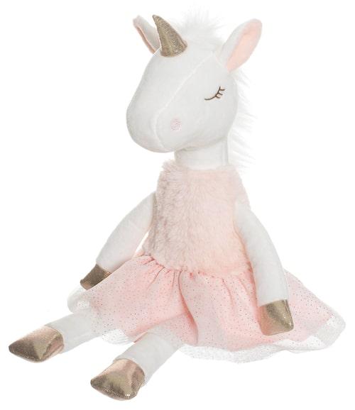 Ballerina med pälstopp från Teddykompaniet.