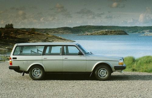 Volvo 240 GLE, 1983