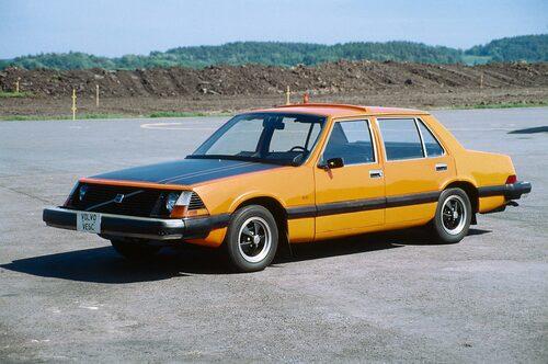 Volvo VESC, 1972. Volvos säkerhetskoncept VESC var en förlaga till 240.