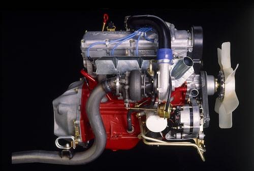 Volvo B21ET Turbo-motor, 1980