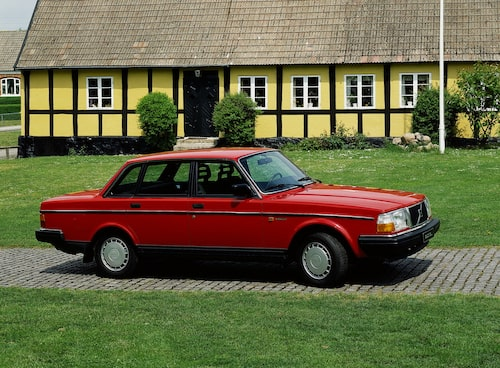 Volvo 240 GL, 1986