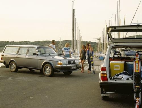 Volvo 240 GL, 1983