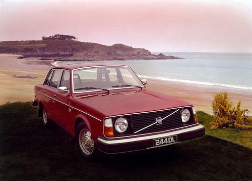 Volvo 244 DL, 1977