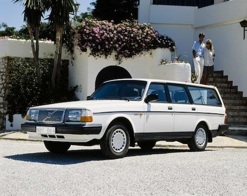 Volvo 240 GLT, 1989