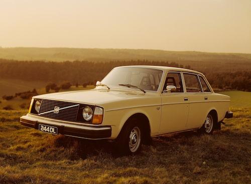 Volvo 244 DL, 1975