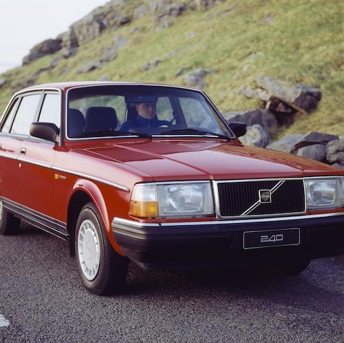 Volvo 240 GL, 1990