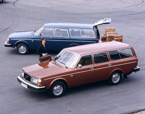 Volvo 245, 1975