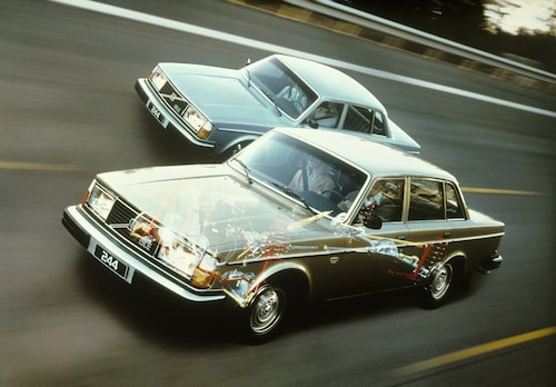 Volvo 244 GLE, 1979