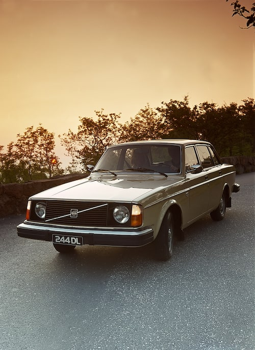 Volvo 244 DL, 1976