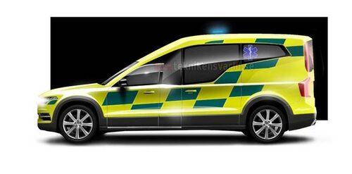Volvo XC90 ambulans.
