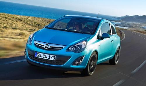 14. Opel/Vauxhall/Chevrolet Corsa, 574 000 exemplar.