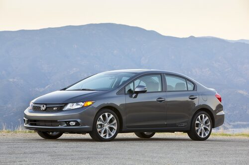 16. Honda Civic, 555 071 exemplar.