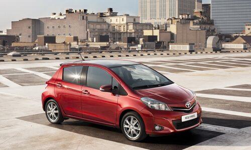 17. Toyota Yaris/Vios, 550 000 exemplar.