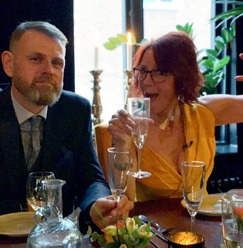 Skilsmässofesten blev lyckad: – Det var en fantastisk helkväll!
