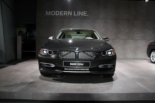 Nya BMW 3-serie Modern Line.