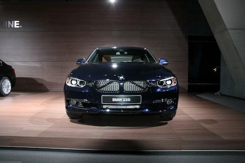 Nya BMW 3-serie Luxury Line.