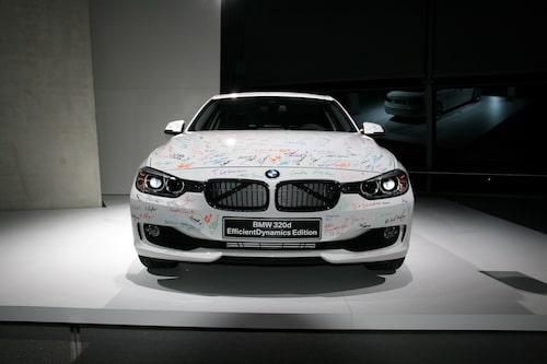 Nya BMW 3-serie i standardutförande.
