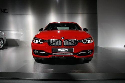 Nya BMW 3-serie Sport Line.