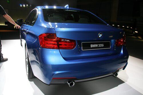 Nya BMW 3-serie M Sport, lanseras senare.