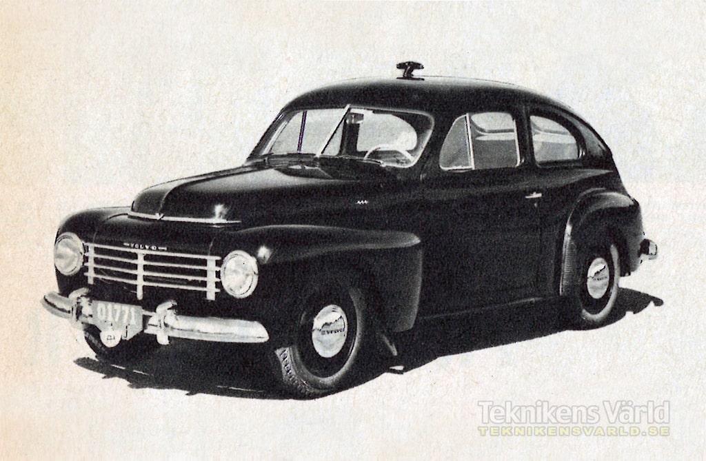 Volvo PV 444 B årsmodell 1951