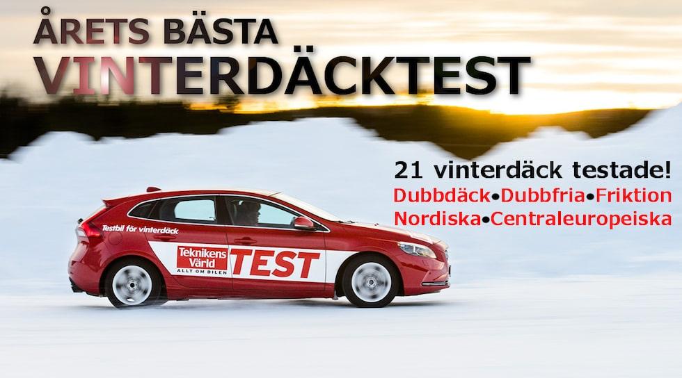 Vinterdäcktest 2013/2014