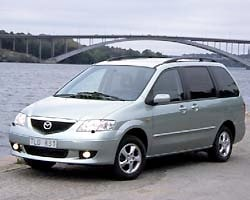 Provkörning av Mazda MPV