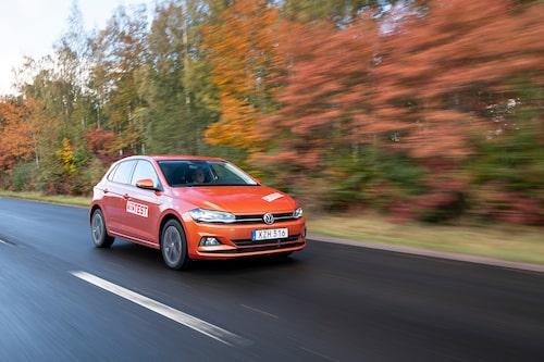 Volkswagen Polo TGI testades i Teknikens Värld nummer 1/2019.