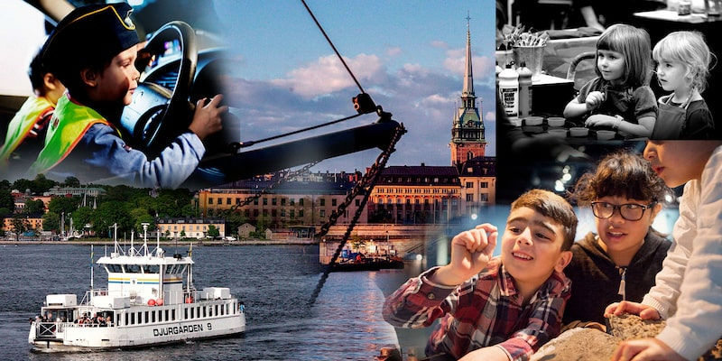 På höstlovet kan barnen roa sig med massor av kul aktiviteter i Stockholm.