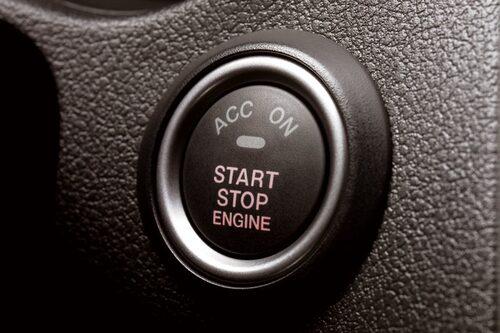 Start/stopp-knapp snart i var mans bil. Det är en enklare teknik än vanlig nyckel.