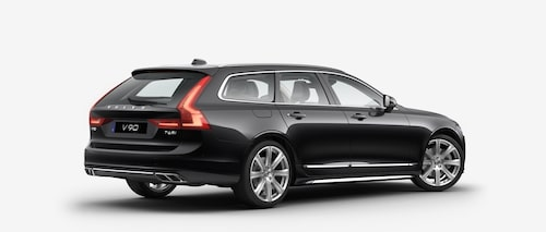 Volvo V90 T6 AWD 2017 Onyx Black Metallic