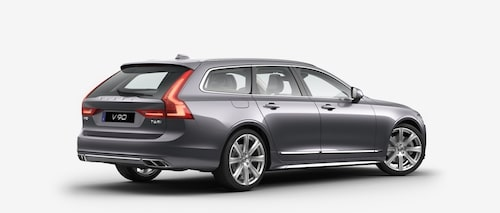 Volvo V90 T6 AWD 2017 Osmium Grey Metallic