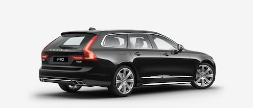 Volvo V90 T6 AWD 2017 Black Solid