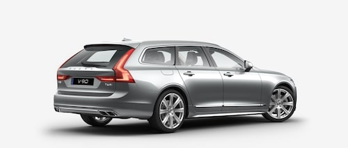 Volvo V90 T6 AWD 2017 Electric Silver Premium Metallic