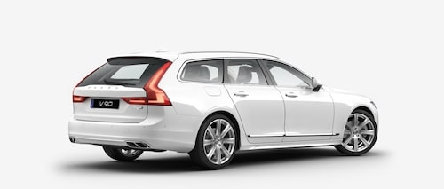 Volvo V90 T6 AWD 2017 Ice White Solid