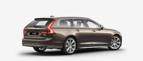 Volvo V90 T6 AWD 2017 Twilight Bronze Metallic