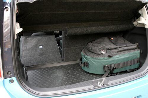 Bagaget är inte stort, endast 225 liter.