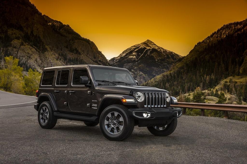 Jeep Wrangler i sin senaste tappning.