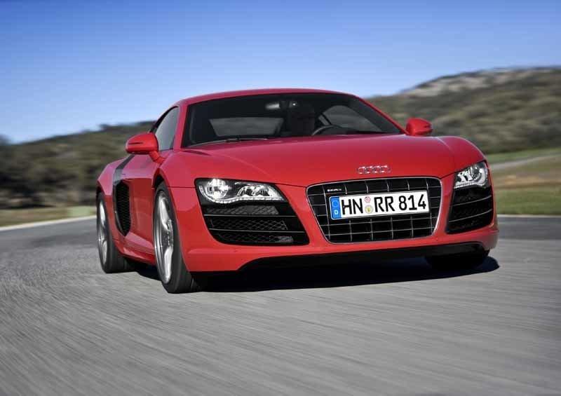 Provkörning av Audi R8 V10