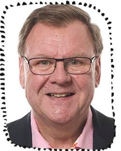 Göran Wennergren, barnläkare.
